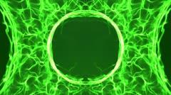 Green Logo BG - stock footage