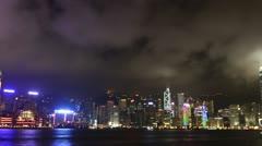 Hong Kong timelapse HD 1080p - stock footage