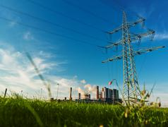 Stock Photo of power plant