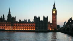 Houses of Parliament 01 - stock footage