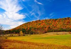 Peak fall foliage Stock Photos