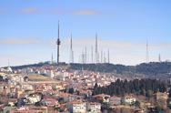 Camlica Hillside, Istanbul Stock Photos