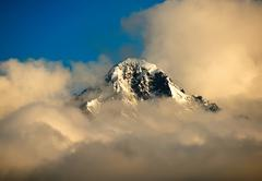 A Mountain peak in Alaska Stock Photos