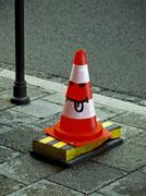 Funny Road Cone Stock Photos