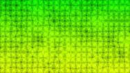 Stock Video Footage of Pulsating green, yellow shade circles