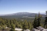 Stock Photo of high angle of the sierra nevadas