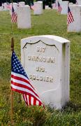 Unknown Soldier Tombstone - stock photo