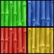 Bamboo four Stock Illustration