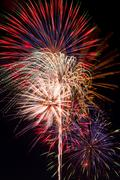 Grand Finale Fireworks - stock photo