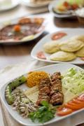 adana kebab - stock photo