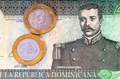 Domenican Republic Money - stock photo