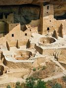 Cliff Palace, Mesa Verde, Colorado Stock Photos