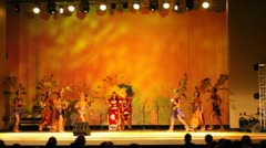 Prehispanic Performance Stock Footage