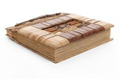 Stock Photo of handcrafted picture album