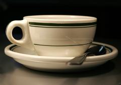 diner ware - stock photo