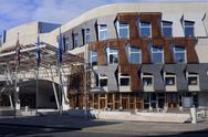 Scottish parliament exterior Stock Photos