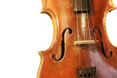 Stock Photo of antique violin