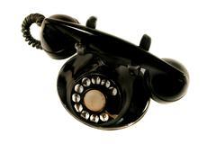rotary phone - stock photo