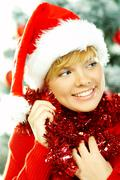 beautiful christmas 2 - stock photo