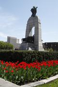 canadian national war memorial - stock photo