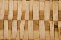 Stock Photo of background of rustic interlaced straw