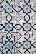 traditional colored decorative tiles - stock photo