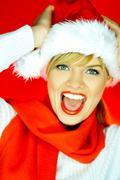Santas woman Stock Photos