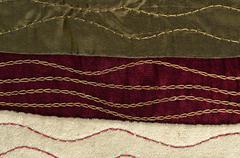 Red cloth texture Stock Photos