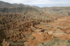 Red canyon. Stock Photos