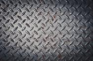 Stock Photo of diamond plate background