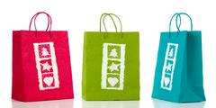 Stock Photo of three paper bags