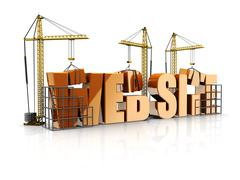 Stock Illustration of web site