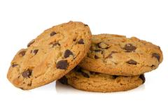 Stock Photo of stack of cookies