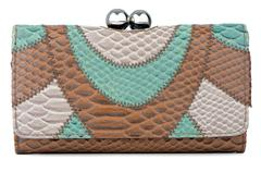 clutch bag - stock photo