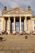 reichstag building berlin germany. - stock photo