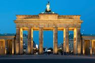 Stock Photo of brandenburg gate in berlin