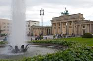Brandenburg gate in berlin Stock Photos