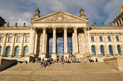 Reichstag building berlin germany. Stock Photos