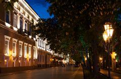 primorskiy boulevard, - stock photo