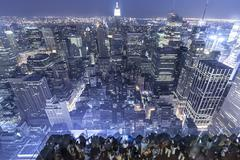 New York Observation Deck - stock photo