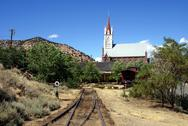 Stock Photo of Virginia City End of the Line