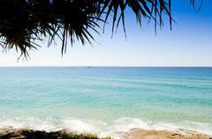 coastal view - stock photo