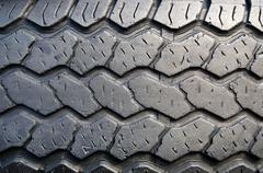 tyre tread - stock photo