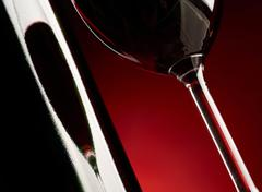 Stock Photo of red wine background.