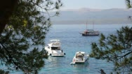 Stock Video Footage of Boats at Adriatic Sea in Croatia