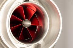 turbocharger - stock photo
