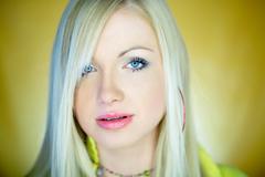 Cute blond one Stock Photos