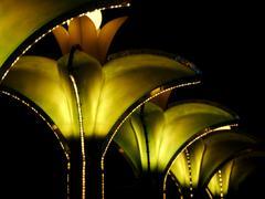 Art Deco Lighting - stock photo