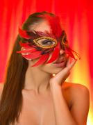 Sexy in mask Stock Photos