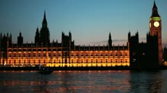 Houses of Parliament 03 - stock footage